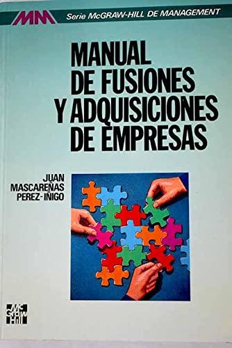 9788448100117: Manual de fusiones y adquisicionesde empresas
