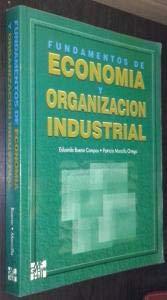 9788448101695: Fundamentos de economia y organizacion industrial