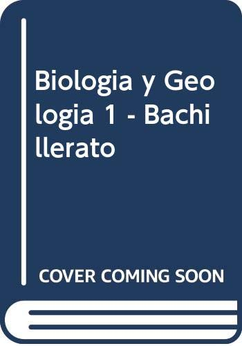 9788448103675: Biologia y Geologia 1 - Bachillerato (Spanish Edition)