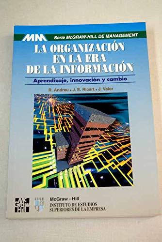 9788448107918: La Organizacion En La Era De La Informacion