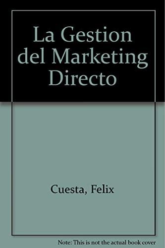 9788448108267: La gestion del marketing directo