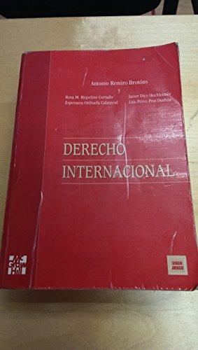 9788448108359: Derecho Internacional (Spanish Edition)