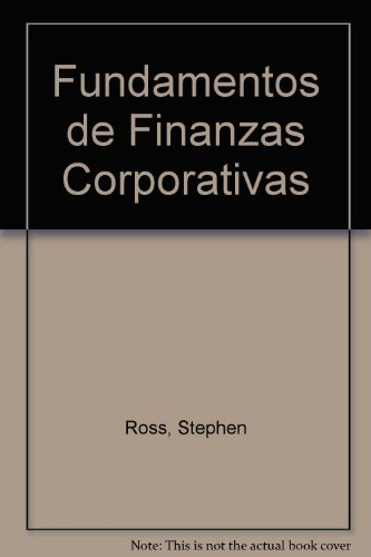 9788448108502: Fundamentos de Finanzas Corporativas (Spanish Edition)