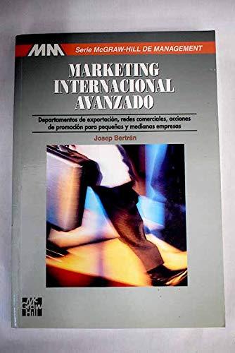 9788448110741: Marketing Internacional Avanzado (Spanish Edition)