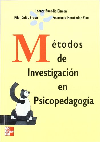 METODOS INVESTIGACION PSICOPEDAGOGIA: BUENDIA