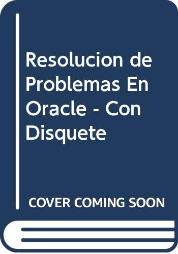 9788448112608: Resolucion de problemas en oracle