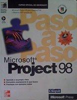 9788448114886: Microsoft Project 98 - Paso a Paso (Spanish Edition)