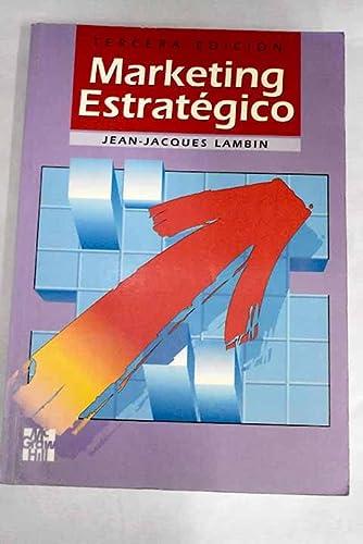 Lambin Jean Jacques Marketing Estrategico Abebooks
