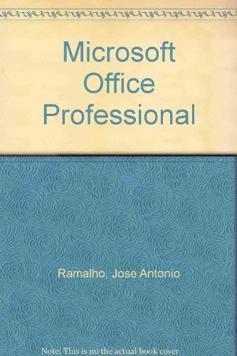 Microsoft Office Professional (Spanish Edition): Jose Antonio Ramalho