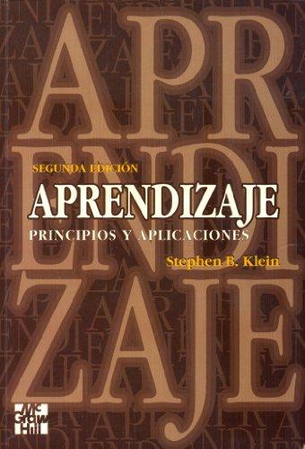 9788448118013: Aprendizaje - Principios y Aplicaciones (Spanish Edition)