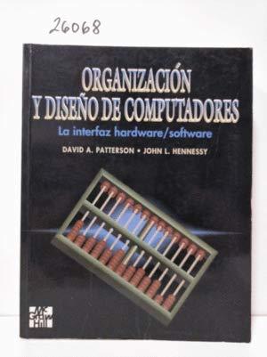 9788448118297: Organizacion y diseño de computadores