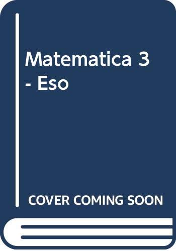 9788448119225: Matematica 3 - Eso (Spanish Edition)
