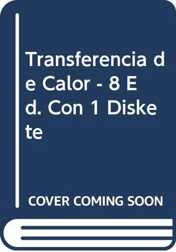 Transferencia de Calor - 8 Ed. Con: Holman, J. P.
