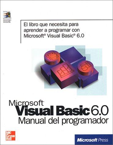 Manual visual basic 6 espaol pdf.