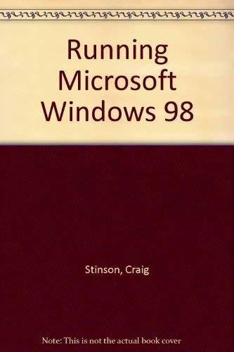 9788448120832: Running Microsoft Windows 98 (Spanish Edition)