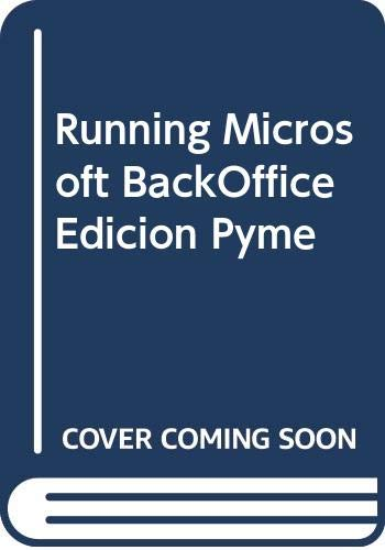 9788448120887: Running Microsoft BackOffice Edicion Pyme (Spanish Edition)