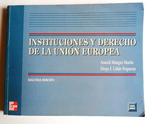 9788448124496: Instituciones Y Derecho De La Union Europea