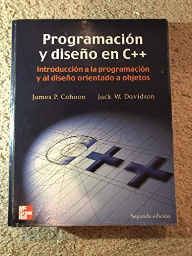 9788448126827: Programacion y Diseno En C++ - 2b: Edicion
