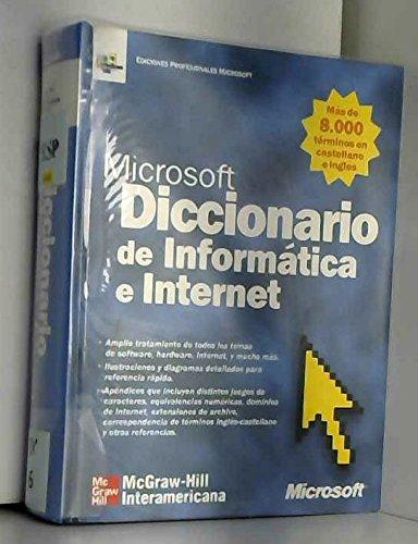 9788448128937: Microsoft Diccionario De Informatica Internet/Microsoft Computer Dictionary (Spanish Edition)