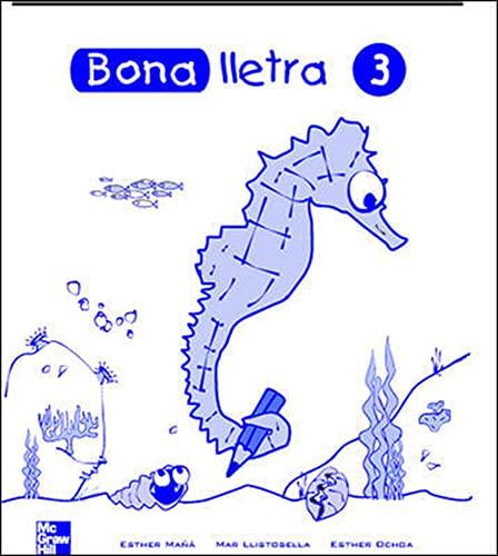 9788448130510: Bona Lletra - Cuaderno De Trabajo 3-9788448130510