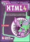 9788448131722: HTML 4 - Manual de Referencia (Spanish Edition)