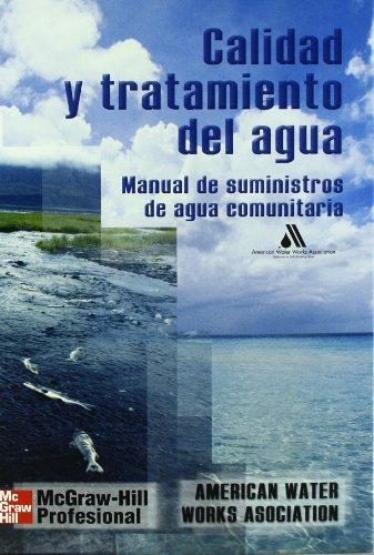 9788448132101: Calidad y tratamiento del agua