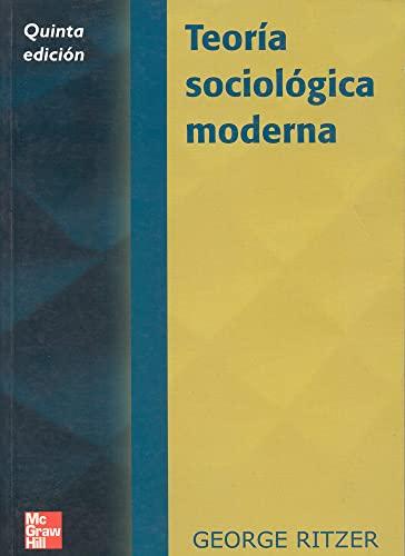 9788448132248: TEORIA SOCIOLOGICA MODERNA