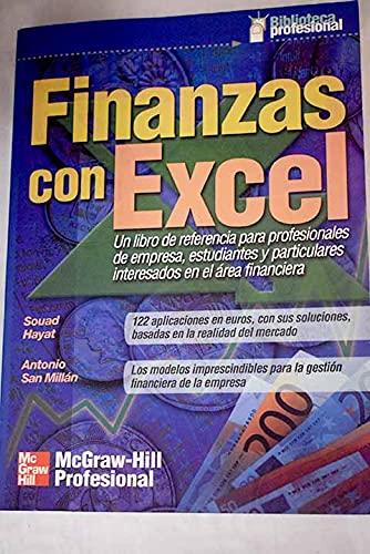9788448133474: Finanzas Con Excel (Spanish Edition)