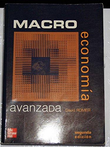 9788448136420: Macroeconomia avanzada (2ª ed.)