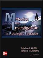 Métodos de investigación en psicología y educación: Orfelio G.; Montero