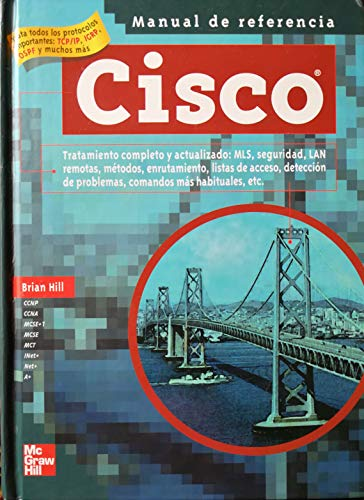 9788448137229: Cisco. manual de referencia