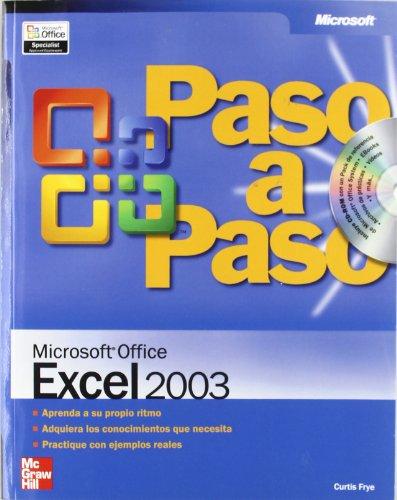 9788448140625: Microsoft Office Excel 2003 paso a paso