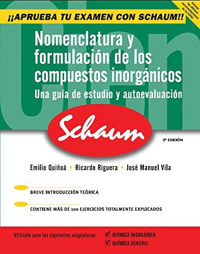 9788448146252: Nomenclatura y Formulacion de Los Compuestos Inorganicos (Spanish Edition)