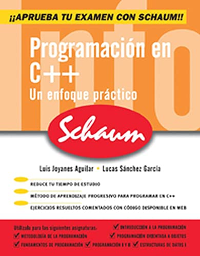 9788448146436: PROGRAMACION EN C++. SERIE SCHAUM