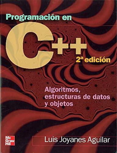 9788448146450: Programación en C++ : algoritmos, estructuras de datos y objetos