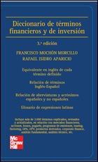 9788448149406: diccionario de términos financieros y de inversión (Spa-Eng/Eng-Spa)