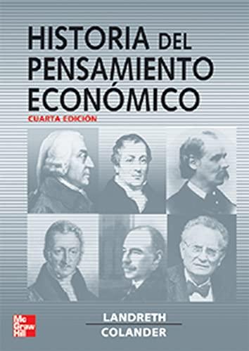Historia del pensamiento económico: Colander, David C.;