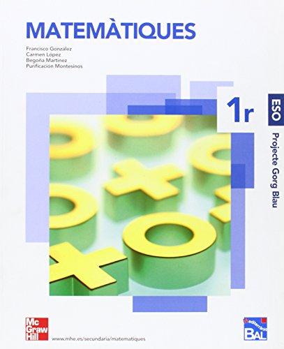 9788448158712: Matemàtiques 1r ESO