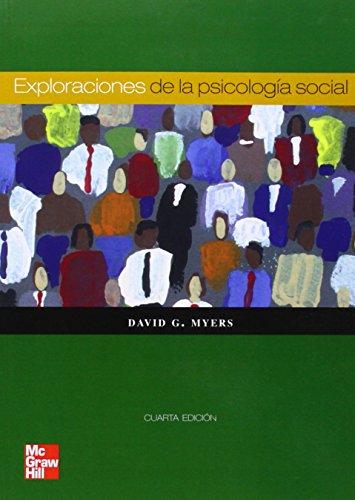 9788448162801: EXPLORACIONES DE LA PSICOLOGIA SOCIAL 4ED