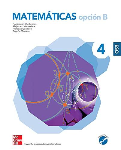 9788448166120: Matemáticas. 4º. ESO. Opción B