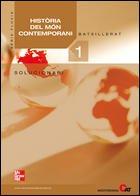 9788448166748: SOL Història del món contemporani. 1r. Batxillerat. Solucionari