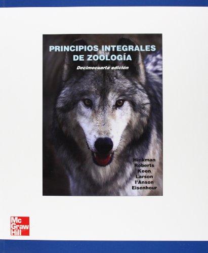 9788448168896: Principios Integrales de Zoología