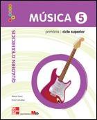 9788448170721: CUTX Música. 5. Primària. Quadern