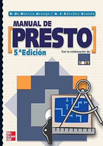MANUAL DE PRESTO. 5 ED. - DE BENITO
