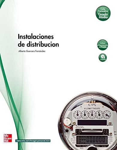 Instalaciones de distribución, grado medio (Paperback): Alberto Guerrero Fernandez