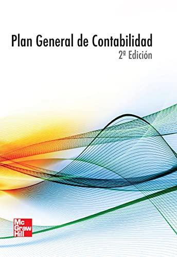9788448180805: PLAN GENERAL DE CONTABILIDAD