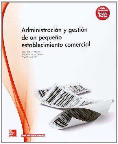 9788448184476: Administracion y gestion pequeño establecimiento comercial LOGSE