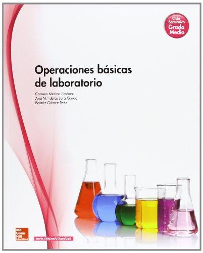 9788448184490: Operaciones básicas de laboratorio : ciclo formativo, grado medio