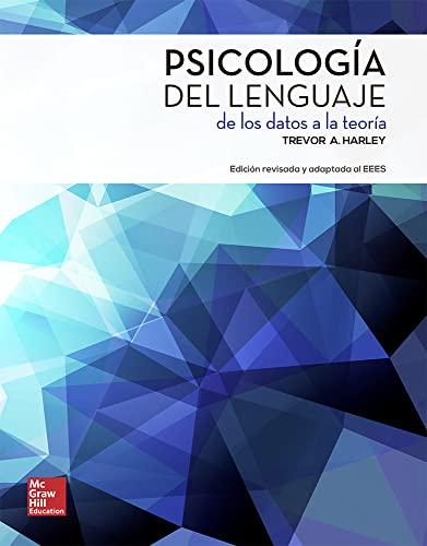 Psicologia del lenguaje, (La)De los datos a la teoria.: Harley, Trevor A.