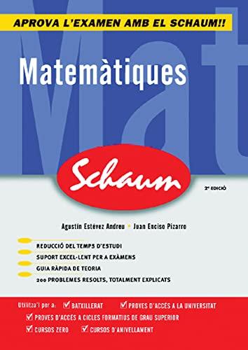 9788448198541: Matematiques. Schaum